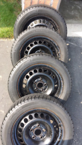 Michelin Winter Tires and Rims 205/55 R16