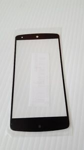 Front Screen Glass Lens Only For LG Google Nexus 5 D820 D821