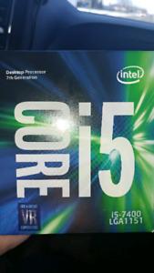 Intel core i5 7400 processor