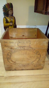 Antique Canadian butter box