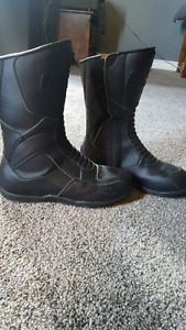 Ladies motorcycle boots $50