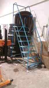 Mobile 6 foot tall ladder/platform Strathcona County Edmonton Area image 1