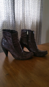 Beautiful Portuguese leather ankle boots
