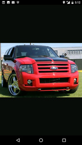 2008 Ford Funkmaster Flex Expedition Very Rare like new low KM