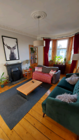 Leith spacious 2 bedroom flat