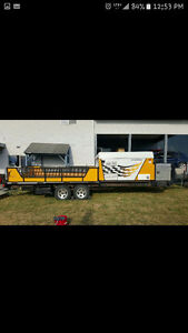 Fleetwood scorpion S1 Tent trailer toy hauler
