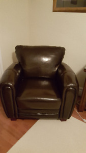 Leather Chair suitable for office or rec room