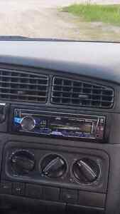 Jvc head unit. Bt aux and usb