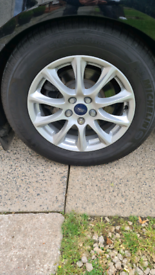 FORD MONDEO MK 5 WHEEL AND TYRE.