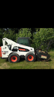 Brush Mulching and Skid Steer Services!!