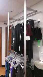 Vertical wall mount clothes rack Cambridge Kitchener Area image 2