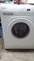 small stackable washer, SAMSUNG,