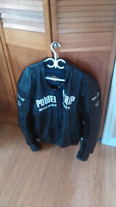 Looking to sell Power Trip Motorcycle Jacket. Asking 250 ono.