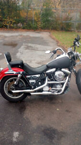 92Harley Davidson fxrs convertible good shape could use paintjb.