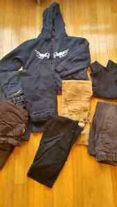 Boys jeans, pantsx5, hoodie, golf shirt. size 6 Kingston Kingston Area image 1