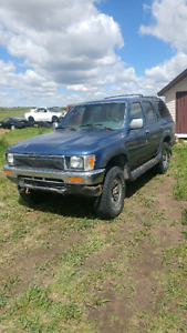 1991 toyota 4runner sr5 parts only