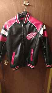 Detroit Red Wings leather jacket London Ontario image 1