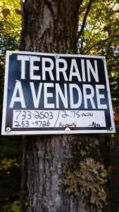 Terrain a vendre / land for sale