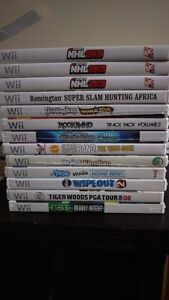 LOT OF WII GAMES ONLY $5 EACH!!!