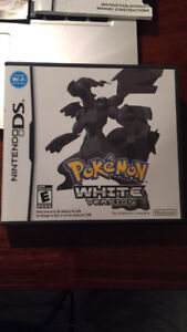 Pokemon White Collectible for DS - Comes With Case And Manuals