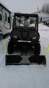 kawasaki terry for sale with plow