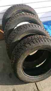 195/55/15 Good Year Nordic Winter Tires