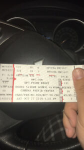 UFC Moncton Tickets