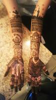 Bridal Mehendi / Henna in Brampton and Mississauga