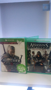 Xbox One Games - The Witcher 3 & Assassins Creed Syndicate