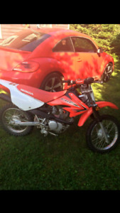 Very low hour CRF80 trade for ATV