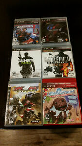 x6 PS3 Games - $40 for all