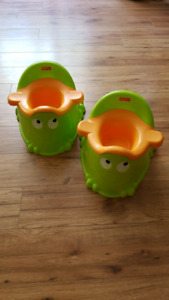 Frog Potty (2 available)
