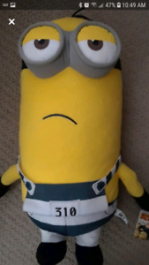minion plush toy new