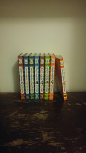 Diary of a whimpy kid books.