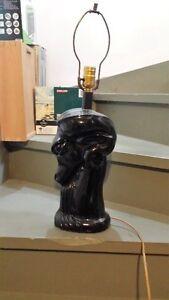 Antique Black Hoarse Head Lamp