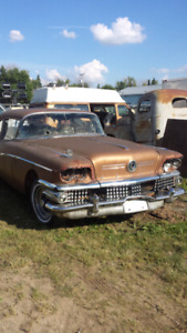 1958 buick 2dr post