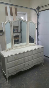 Dresser with Mirror - Baronet French Provincial