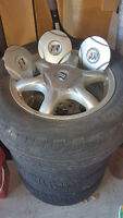 "Michelin 16"" Hydroedge Tires w/Alloy Rims"