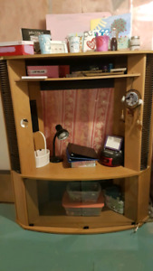 Hutch and TV stand
