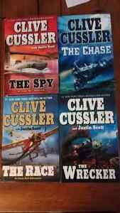 Clive Cussler: The Chase, The Spy, The Race, The Wrecker