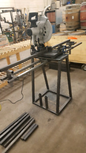 Evolution 380 dry cut saw with stand