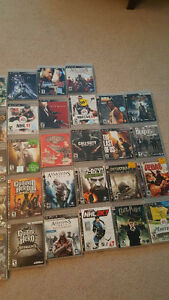 Multiple PS3 games in great condition. $5 each or $150 for all!