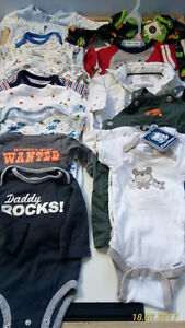 ALL NEW  0-3 M Baby Boy Clothes!