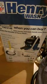 Henry carpet wet vacuum cleaner