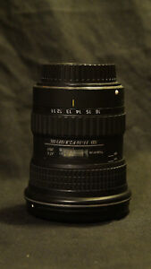 Tokina 11-16 F2.8 (IF) DX Canon EF Lens