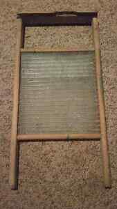 Antique glass washboard London Ontario image 1
