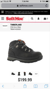 Timberland Pro Safety Shoe (Alloy Safety Toe) -New