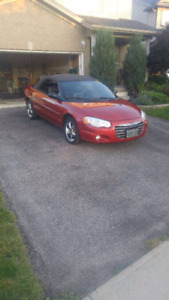 2004 Chrysler Sebring convertible lxi