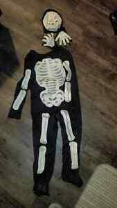 SKELETON Youth Halloween Costume