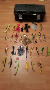 Selling mint condition musky lures!